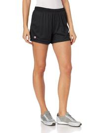 Champion Women's Mesh Short, Black, Large