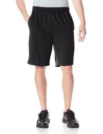 IZOD Men's Mesh Performance Short, Asphalt, Medium