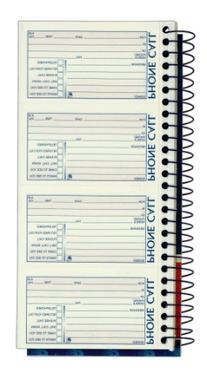 Adams Message Book/Phone Call, Carbonless Duplicate, 5.50 x