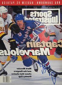 Messier, Mark 6/13/94 autographed magazine