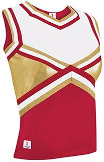 Met Shock Shell Top Red/Gold Youth Medium