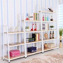 Magshion* Metal Home Decorate Bookcase 2 Colors Choose 3,4,5