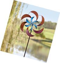 Metal Petals Wind Spinner