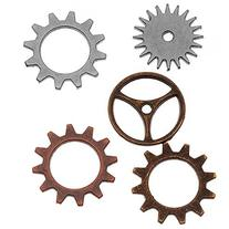 Metal Sprocket Gears by Tim Holtz Idea-ology, 12 per Pack,