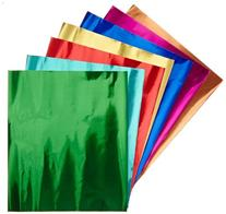 Hygloss Metallic Foil Paper - 8 1/2 x 10 inches - Pack of 24