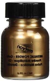 Mehron Metallic Powder - Metallic Gold 1 ounce