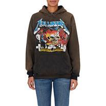 Madeworn Women's Metallica Contrast Hoodie