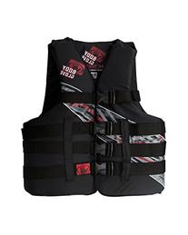Body Glove Adult Method USCG Approved 4 Buckle Life Jacket