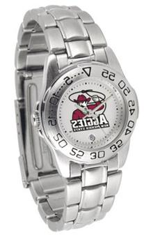 New Mexico State Aggies - Ladies' Sport Steel Watch
