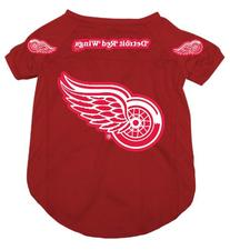 Hunter MFG Detroit Red Wings Dog Jersey, Small