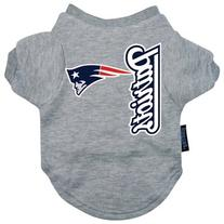 Hunter MFG New England Patriots Dog Tee, Small