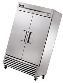 True Mfg T-43F, 2 Door, 43 cu ft Reach-In Freezer