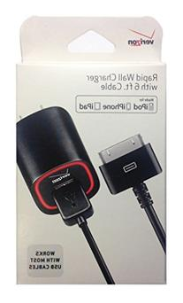 Verizon MFI Apple Certified 2.1 AMP Rapid Power Wall Charger