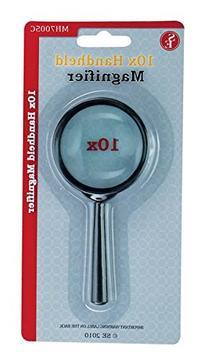 """SE MH7005C 5x Handheld Magnifier, 2"""" Glass Lens Dia"""