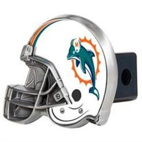 Miami Dolphins NFL Metal Helmet Trailer Hitch Cover