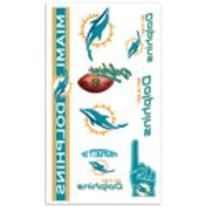 NFL Miami Dolphins 09401013 Tattoos