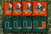Miami Hurricanes Cornhole Bag Replacement Set  Corn Hole