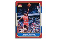 "Michael Jordan Autographed ""Fleer Rookie Card"" 12.5x17.5"