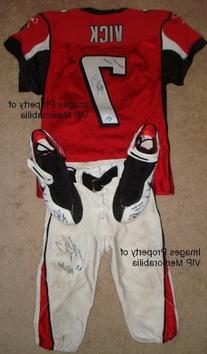Michael Vick Game Used Uniform 10/15/06 - Jersey, Pants, &