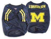 Sporty K9 Michigan Football Dog Jersey, X-Large