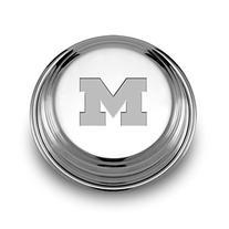 Michigan Pewter Paperweight