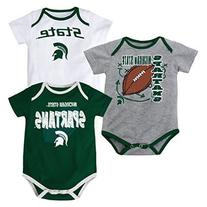 "Michigan State Spartans Baby / Infant ""3 Point Spread"" 3"