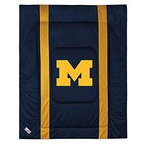 NCAA Michigan Wolverines Sideline Comforter Twin