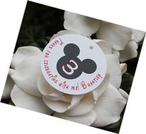 Set of 10 Mickey Mouse BirthdayParty Favor Tags