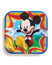 """Mickey Mouse Clubhouse 9"""" Square Plate , Party Supplies"""
