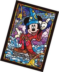 Tenyo Mickey Mouse Stained Glass Gyutto Size Series Jigsaw