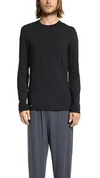 Calvin Klein Men's Body Modal Long Sleeve Crew Neck Pajama