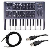 Arturia Microbrute Analog Synthesizer with Instrument Cable