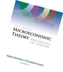 Microeconomic Theory Basic Principles and Extensions