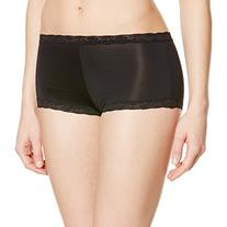 Maidenform Women's Microfiber with Lace Boyshort Panty,