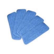Tangkula 5 Pack Microfiber Mop Pads Head Wet Dry Mops Refill