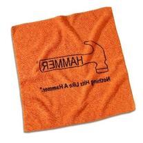 Hammer Microfiber Towel, Orange
