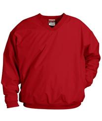 Badger Sportswear Adult Microfiber Windshirt, Red, XXX-Large