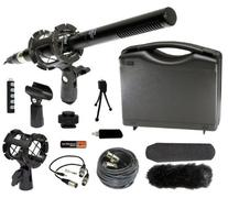Generic Professional DSLR Microphone Kit for Canon EOS 5D