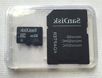 SanDisk 32GB MicroSDHC High Speed Class 4 Card with MicroSD