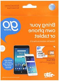 AT&T 3-in-1, Triple Cut Universal SIM Card Starter Kit for
