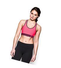 Under Armour Women's Armour® Mid Sports Bra Small White