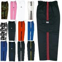 Middleweight Karate and Martial Arts Cargo Pants Black and