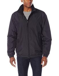 IZOD Men's Midweight Bomber Jacket with Polar Fleece Lining