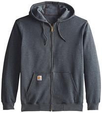 Carhartt Men's Midweight Sweatshirt Hooded Zip Front