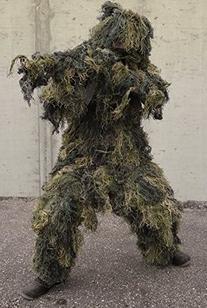 Mil-Tec Anti-Fire Ghillie 4 Piece Suit XL/XXL