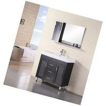 "Design Element Milan 36"" Bathroom Vanity - Espresso"