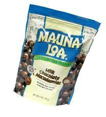 Mauna Loa Milk Chocolate Macadamias, 4 pk