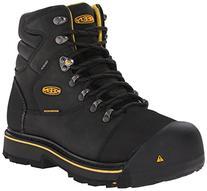 KEEN Utility Men's Milwaukee WP Work Boot,Black,10.5 D US