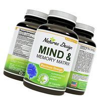 Natures Design Mind & Memory Matrix Brain Supplement for