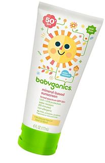 Babyganics Mineral Based Sunscreen - SPF 50+ - Fragrance